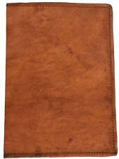 """Gustl Leder nature """"Becky"""" Genuine Leather wrapper Copertina Libro fatto a mano."""