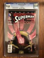 Rare Superman Annual #2 CGC 9.8 Tom Derenick Art & Andy Kubert Cover DC Comics