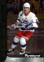 2016-17 Parkhurst NHL Centennial Salute Hockey Card #S8 Teemu Selanne