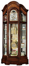 Howard Miller 610-939(610939) Majestic II Grandfather Floor Clock-Windsor Cherry