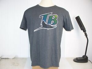 Tampa Bay Devil Rays MLB Throwback Adult XL Game Day Tee Shirt