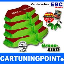 EBC FORROS DE FRENO DELANTERO Greenstuff para SEAT INCA 6k9 DP2841/2
