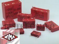 Condensateur Wima MKP-10 250V-/180V~ valeur au choix PRE-ORDER 5-7 DAYS