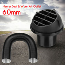 60MM Heater Duct Ducting Pipe Warm & Air Vent Outlet Diesel Webasto Eberspacher