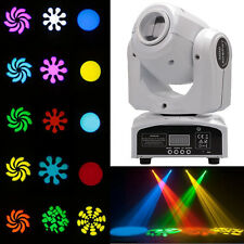 30W RGBW Stage Light Beam LED Moving Head Lights DMX Disco DJ Bar Party Lighting