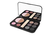 bhcosmetics Forever Smokey Makeup Palette - Eyeshadow, Blush, Highlighter, Lip