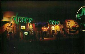 CIRCUS DAZE, AMUSEMENT PARK, PONTCHARTRAIN BEACH, NEW ORLEANS, LA, POSTCARD
