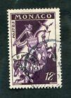Timbre MONACO préoblitéré YT n° 13 - Cavalier à cheval - 1954/59