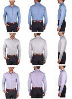 Perry Ellis Men's Regular Fit Travel Luxe Non-Iron Dress Shirt