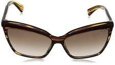 Police Eyewear Women's S1877M-0WT8 Cateye Sunglasses Brown