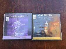 GARTH NIX 2 Unabridged Audiobooks on CD Keys To Kingdom Sir Thursday Lady Friday