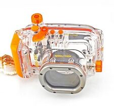 40M 130ft Underwater Diving Waterproof Housing Case for Canon S95 Camera WP-DC38