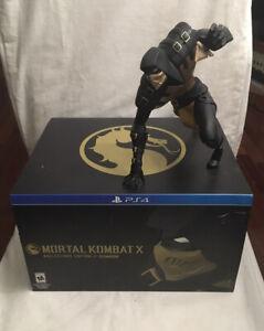 PS4 Mortal Kombat X Kollectors Edition By Coarse Scorpion Statue *NO GAME