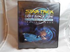 STAR TREK DS9 MEMORIES FROM THE FUTURE COLLECTORS BINDER