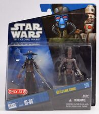 Star Wars The Clone Wars CAD BAINE & IG-86 Target Exclusive 2010 New on Card