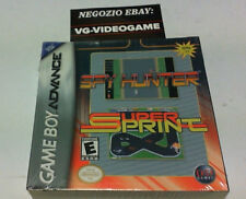 SPY HUNTER -  SUPER SPRINT GAME BOY ADVANCE NUOVO !!!!!! RARO