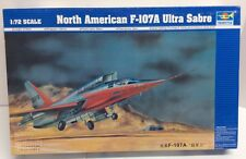 Trumpeter 1/72 North American F-107A Ultra Sabre Model Jet Plane Kit 1605 New