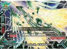 "4x Jackknife, ""EXAM STYLE"" Buddyfight Promo Rare HOT MINT FREE SHIP"