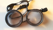 Antique Steampunk Auto Glasses Goggles  Driving Motorcycle Safety railroad