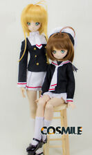 Card Captor Sakura CLEAR CARD 1/3 SD DD BJD Costume Clothes Clothing Cosplay DH