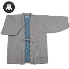 JAPANESE Kimono HANTEN  Men's LL BLACK (39)