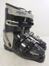 Alpina CRV 6L Downhill Ski Boots w/Forward Flex Control Mondopoint 24.5 GREAT