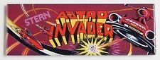Astro Invader FRIDGE MAGNET (1.5 x 4.5 inches) arcade video game spaceship UFO