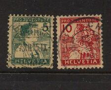 Switzerland  B2-3 used  catalog  $95.00
