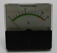 Fuji Electric Load Meter Gage, # KSM-6A, Class 2.5, 0 - 120%, Used, Warranty