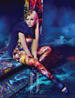 McQ Alexander McQueen Celebrity Psychedelic Crystal Print Dress XL Fits 10 NWT