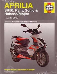 Aprilia Motorcycle Repair Manuals Literature For Sale Shop With Afterpay Ebay