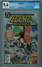 LEGENDS #3 CGC 9.6 1ST MODERN SUICIDE SQUAD HIGH GRADE WHITE PGS 1987