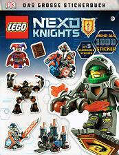 Lego Nexo Knights: Das grosse Stickerbuch (mit über 1000 Sticker), DK-Verlag,NEU