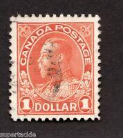 1925 Canada #122 Θ Used F-VF $1 Dollar Admiral