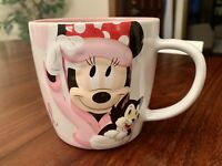 Disney Parks Minnie Mouse Mug Beauty Sleep I'm Always This Beautiful Figaro Cat
