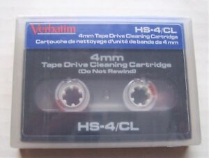 Verbatim 4mm Tape Drive Cleaning Cartridge 40 Cleanings HS-4/CL - New Sealed