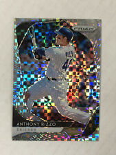 ANTHONY RIZZO 2020 Prizm POWER PLAID PRIZM SP 29/75 REFRACTOR! #224! CUBS!