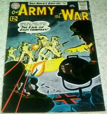 Our Army at War 126, VF- (7.5) 1963 1st Canary, Grey Tone cover! 40% off Guide!