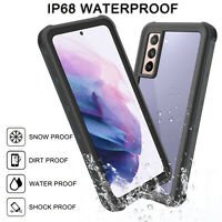 For Samsung Galaxy S21 Plus Ultra S20 Note20 Shockproof Waterproof Case Cover