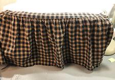 Vhc Brands Bingham Star Queen Bed skirt Matches Bingham Star Bedding