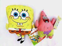 "Spongebob Patrick Stuffed Animal Plush Doll Toy Gift Kids Boys Girls Sponge 10"""