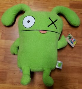 """Hasbro Ugly Dolls OX Large 18"""" Stuffed Plush Toy *NWT* Ages 4+ Green"""