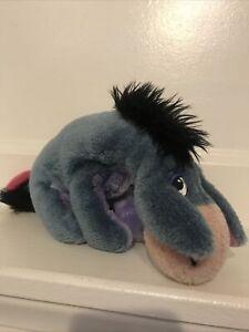"Eeyore Winnie The Pooh Plush Stuffed Toy 9"" 100 Acre Collection Gund Vintage"