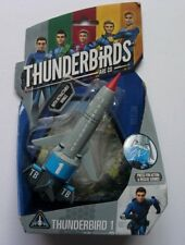 THUNDERBIRDS ARE GO THUNDERBIRD 1 WITH RETRACTABLE WINGS AND SOUNDS NEW FREE P&P