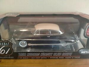 HIGHWAY 61 COLLECTIBLES-1952 HUDSON HORNET CLUB COUPE 1:18