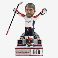 Washington Capitals Stanley Cup Champ Alex Ovechkin 700 Goals Counter Bobblehead