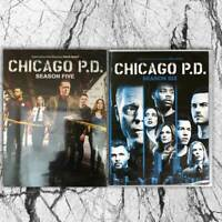 Chicago P.D. PD: Seasons 5 & 6 (DVD, 2019, 12-Disc,Region 1 US) Fast shipping