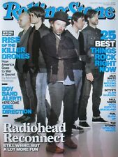 RADIOHEAD 2012 Rolling Stone Magazine ONE DIRECTION / JACK WHITE / THE STONES
