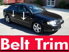 Audi A4 CHROME SIDE BELT TRIM DOOR MOLDING 95-01 02 03 04 05 06 07 AVANT