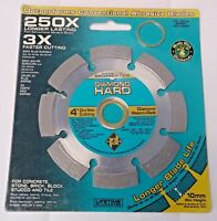 """4/"""" x 2-1//2/"""" x 1/"""" 180 Grit Wet /& Dry Sanding Sponges 2nd/'s 10pcs."""